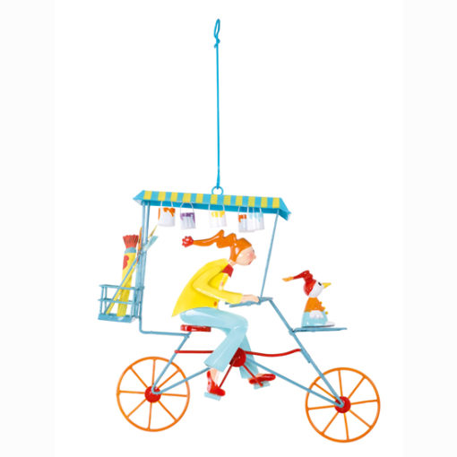 Le-painter-yellow-~-small-hanging-mobile