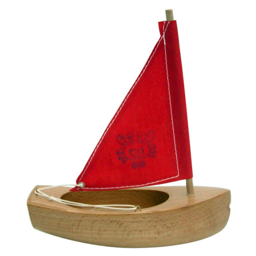 Small toy sail boat