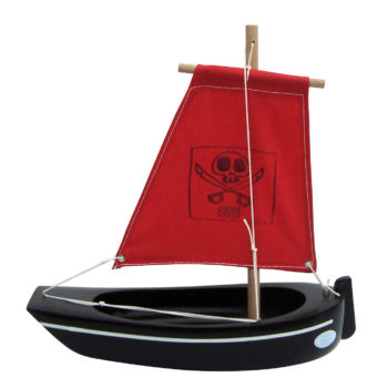 Small Toy Pirate Ship Boat