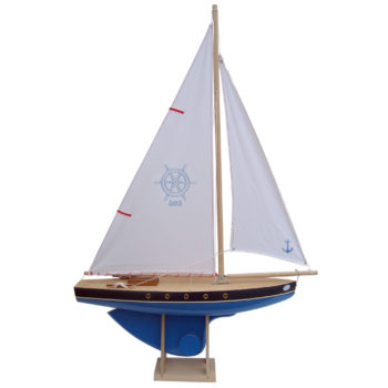 Bateaux Tirot boat 503 blue, large toy boat