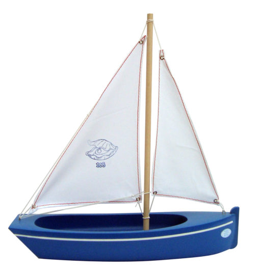 Small Toy Blue Boat