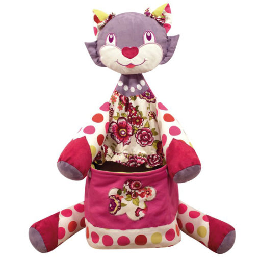 Little French Heart cat toy box