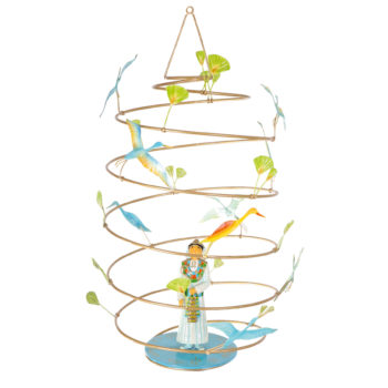 Children's-decor-Prince-Egy-le-spirale---French-mobile