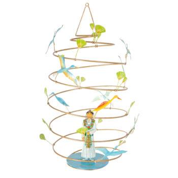 Children's-decor-Prince-Egy-le-spirale---French-mobile