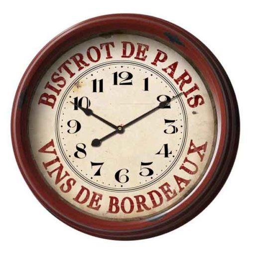 Bistrot de Paris French wall clock