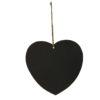 French heart chalkboard