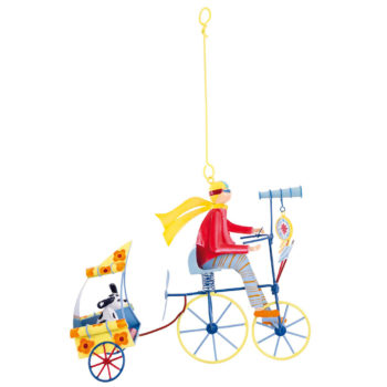Little French Heart - Pilot and his dog petit mobile red image