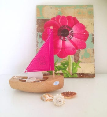 Toy wooden boat Princess Starfish