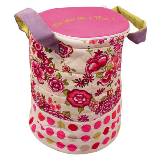 Toy sac - large flowers