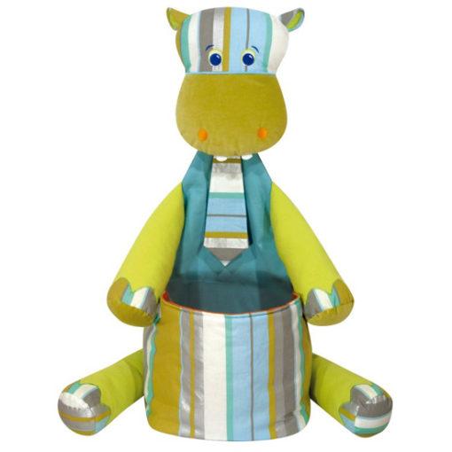 Hippo pyjama bag