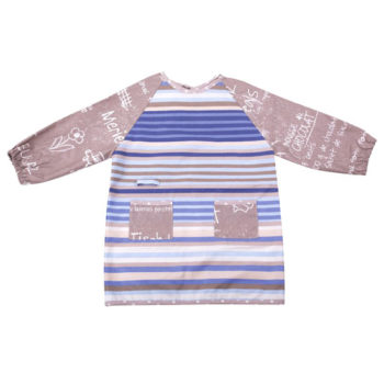 Mots sur le sable child's art smock