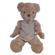 Little French Heart Clemence French vintage teddy bear