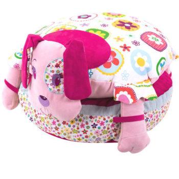 Pretty pink floor cushion