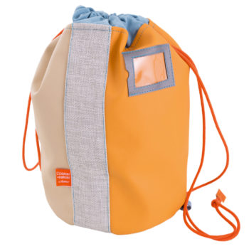 Little-French-Heart-Le-Sports-Bag-Orange-image, Hats & Bags