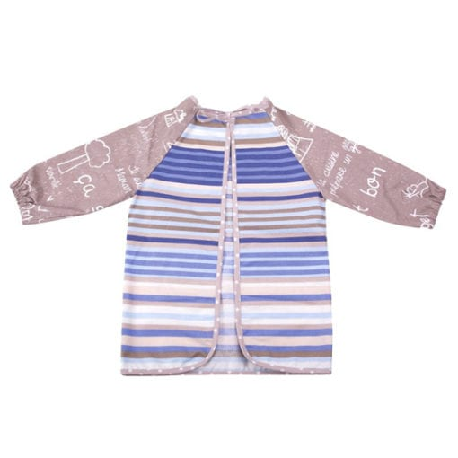 Mots sur le sable child's art smock reverse