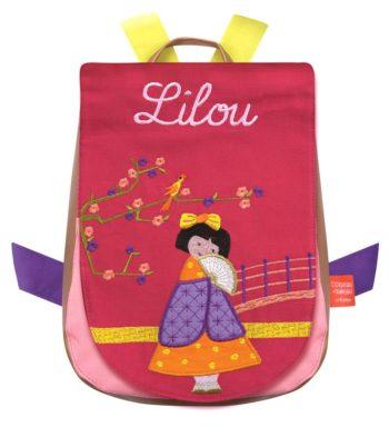 Sweet Japanese girl backpack