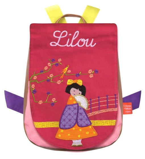 Sweet Japanese girl backpack