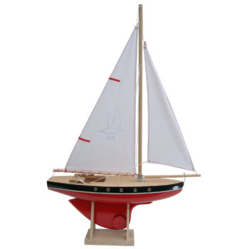 Seaworthy 502 toy wooden sailing boat