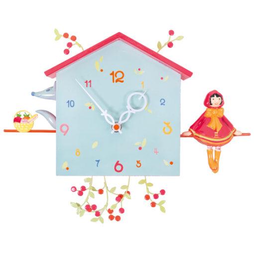 Little-Red-Riding-Hood-children's-wall-clock