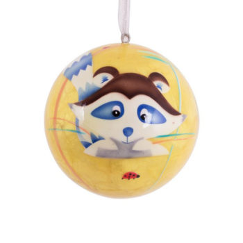 Dream Bubble Racoon Yellow