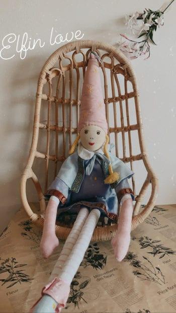 L'Oiseau Bateau French Elf Ragdoll Pale Pink Bette
