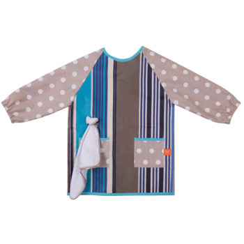 French Blue Art Smock
