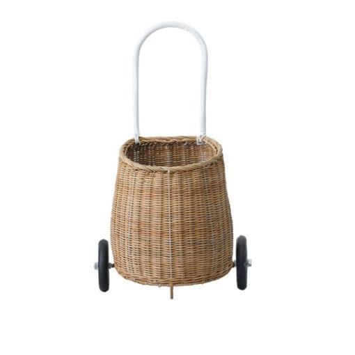 Olli Ella Kids Vintage Rattan Luggy Basket Natural