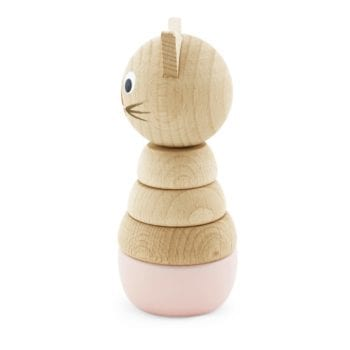 Traditional Wooden Learning Toy Cat Puzzle