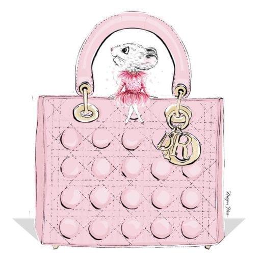 Claris the Chicest Mouse in Paris handbag