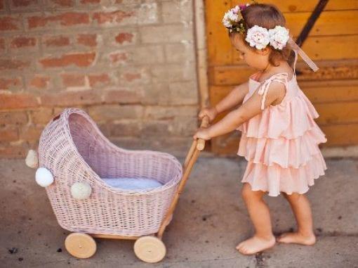 Prams, wooden toys, children's toys,. little french heart