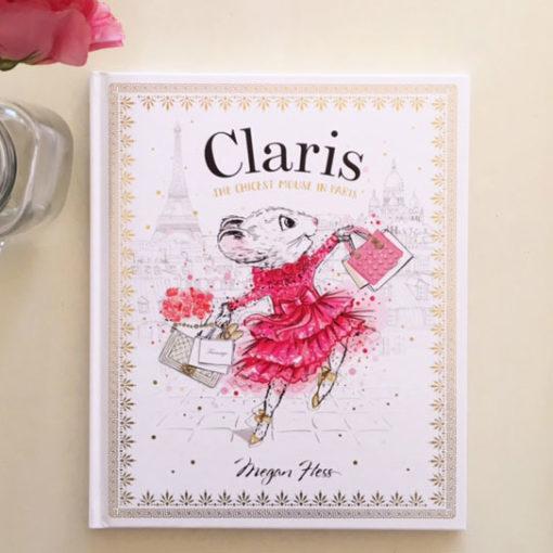 Megan-Hess-Claris-the-Chicest-Mouse-in-Paris, Claris The Chicest Mouse in Paris Children's Book