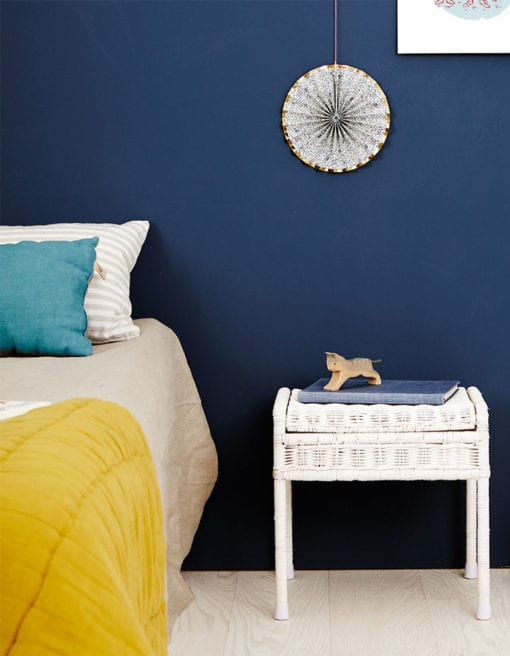 Olliella-vintage-rattan-storie-stool-white-blue-room