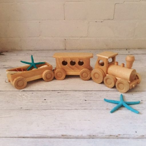 Traditional Wooden Toy Train Set, wooden toys, Planes, trains, cars & space toys