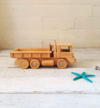 Traditional Wooden Toy Truck