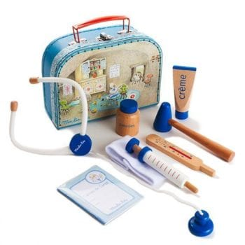 Moulin Roty Kids Medical Play Kit set contents