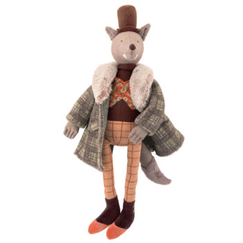 Moulin Roty The Gentleman Wolf Children's Doll