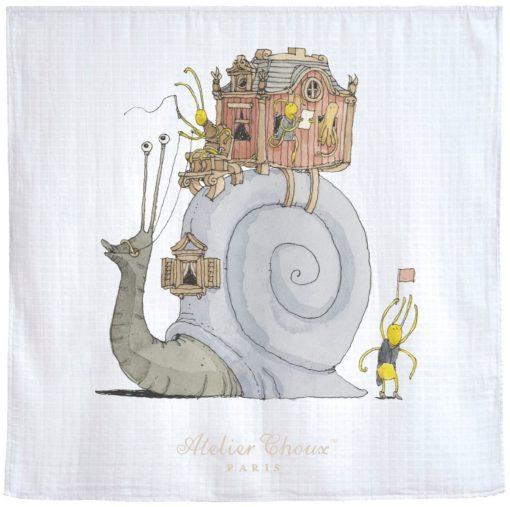 Atelier Choux Escargot Baby Swaddle - Copy