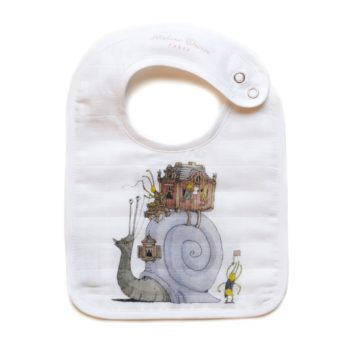 Atelier Choux Small-Bib-Escargot shrunk