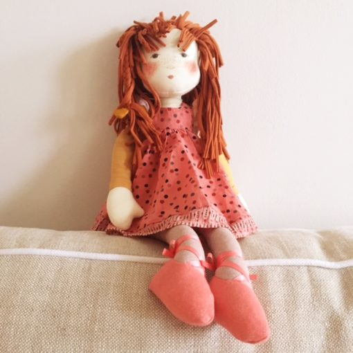 Moulin Roty Les Rosalies Anaemone Ragdoll - Little French Heart
