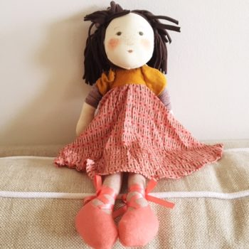 Moulin Roty Les Rosalies Prunelle Ragdoll - Little French Heart