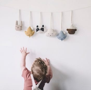 Main Sauvage Baby Gym Knit Toys all, children's decor