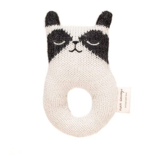 Main Sauvage Baby Rattle Racoon Resized