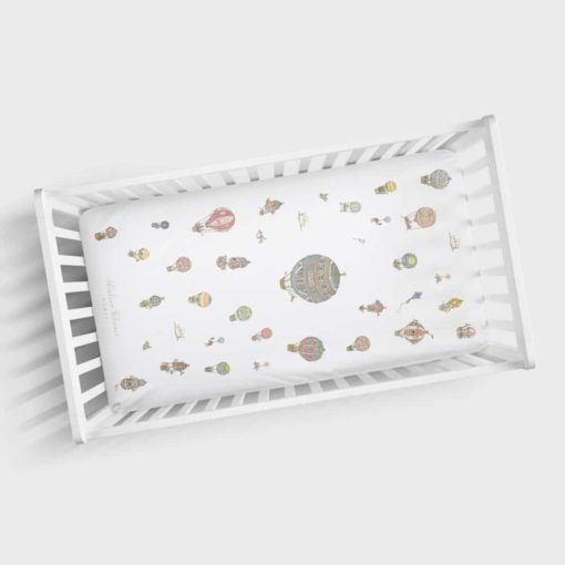 Atelier Choux Fitted Sheet Hot air balloons