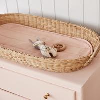 Olli Ella Luxe Organic Cotton Liner Rose