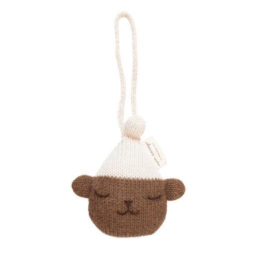 Main Sauvage Teddy Baby Gym Knit Toy