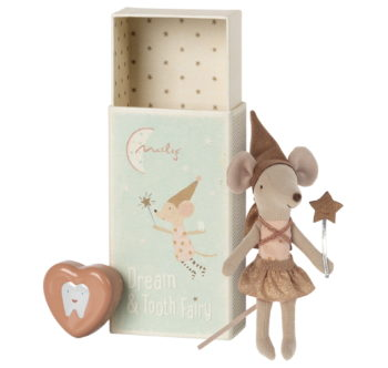 Maileg Tooth Fairy Mouse Rose #Littlefrenchheart