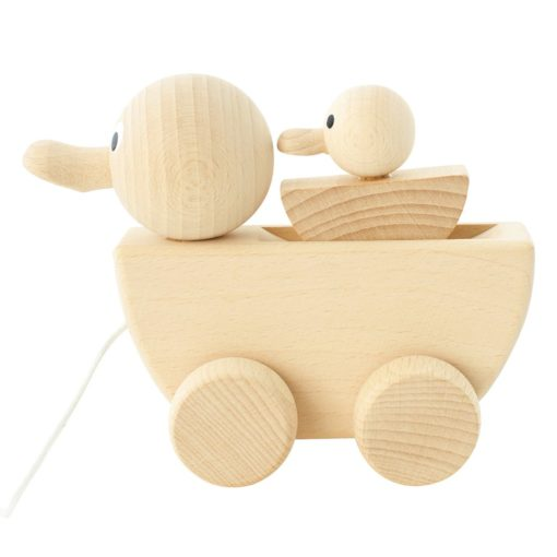 Wooden Toy Duck Gracie Little French Heart