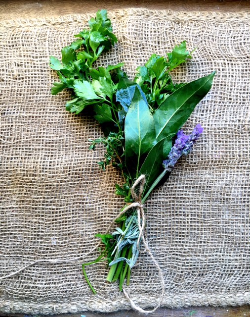 little French Heart Bouquet Garni