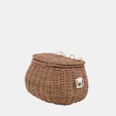 Mini Chari Bag Natural- Little French Heart