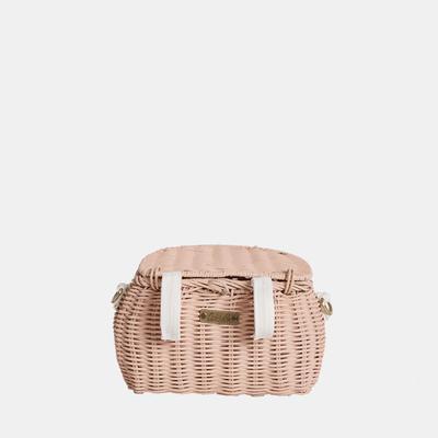 Mini Chari Bag Rose- Little French Heart